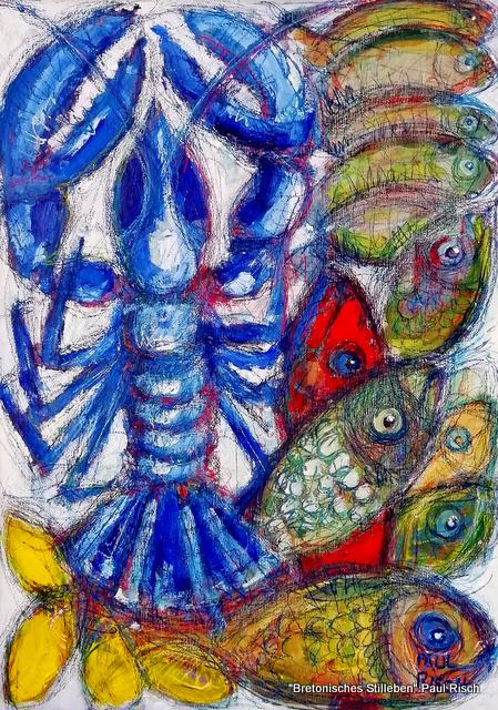 """""""Bretonisches Stillleben"""" von Paul Risch (Frankreich) 170 x 90 cm"""