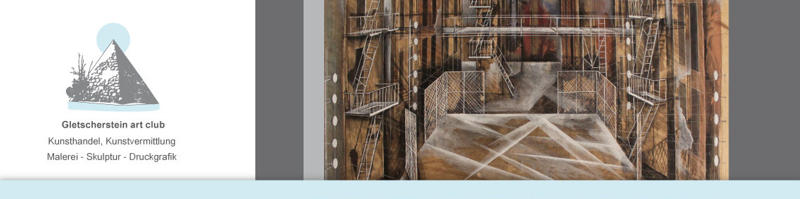 """""""Westside Story"""" Zeichnung, Bühnenbild"""