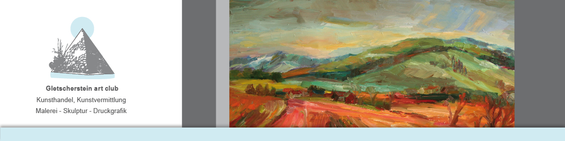 Bild: Vor den sieben Bergen, 2013, Öl auf Leinwand, 100cm x 80cm, von Mandy Friedrich
