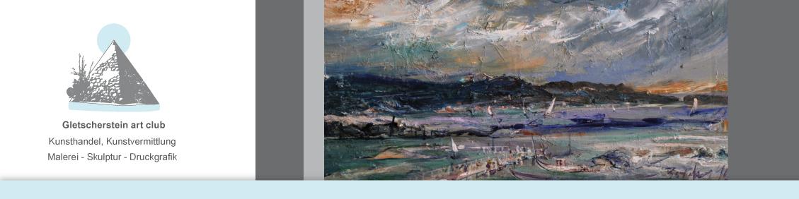 Nordische Landschaft, 2016 Öl auf Leinwand, 60cm x 40cm