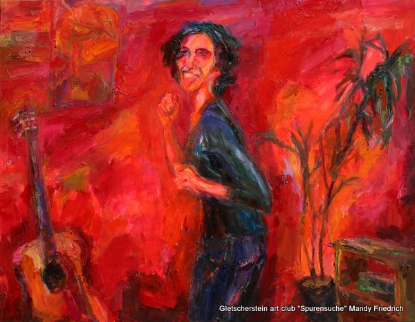 """""""Den Teufel will sie tun"""" Öl auf Leinen, 2014 140 x 180cm"""