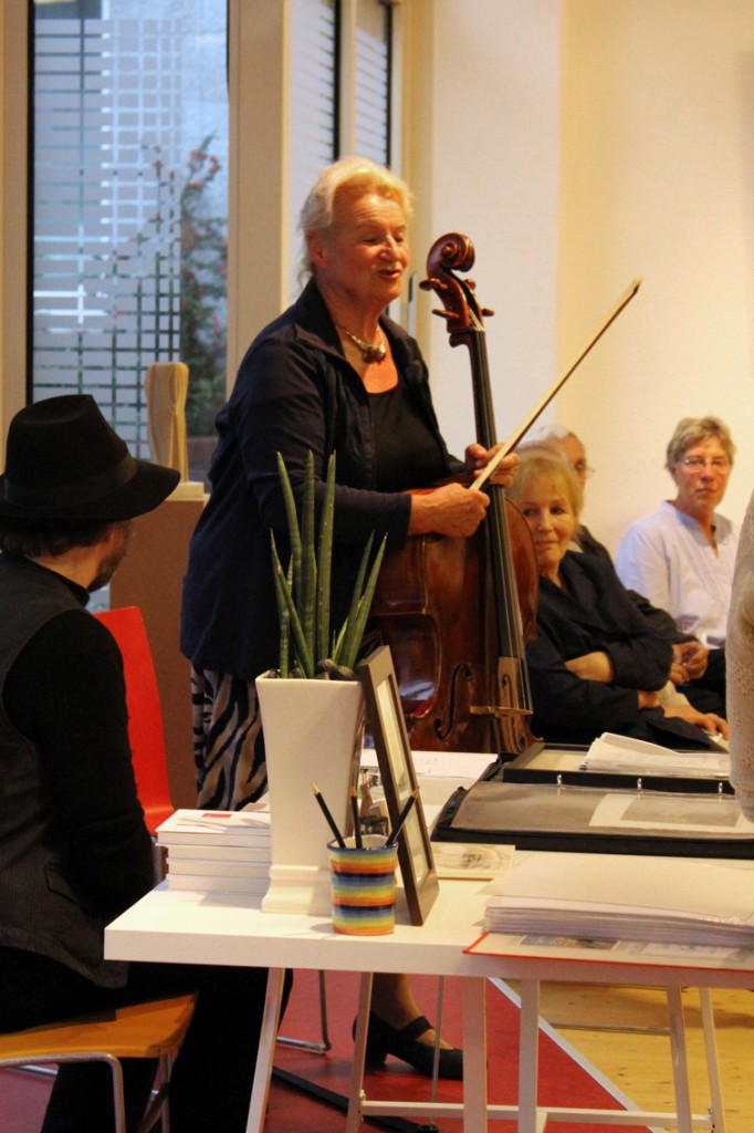 Vernissage Ulrich Jungermann am 12.09.2014