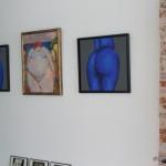 Der Gletscherstein -art club- mit Werken verschiedener Künstler zum Thema Akt.