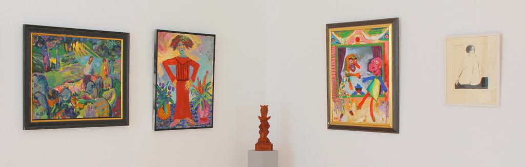 Jubiläumsausstellung Norbert Hornig zum 80. – Meine Welt in Farben