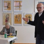 Joachim Walter moderiert die Veranstaltung.