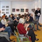 Publikum im GLETSCHERSTEIN-art-club